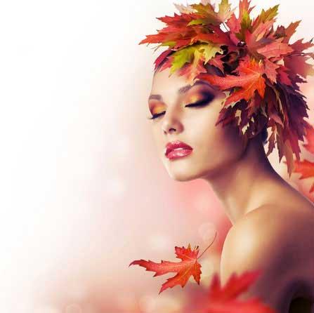 Make-up für den Herbsttyp